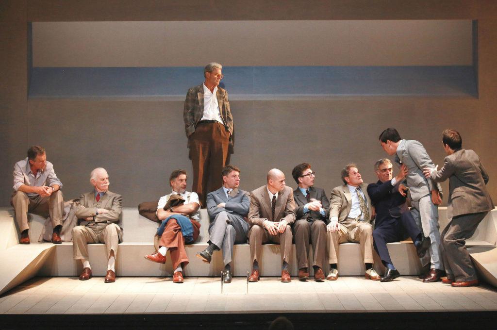12 hommes en colere théâtre hebertot quatrième mur blog critique théâtre blog culture