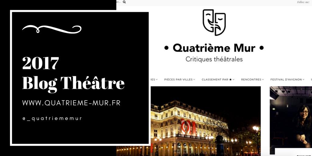 quatrième mur blog théâtre critique avis art culture paris