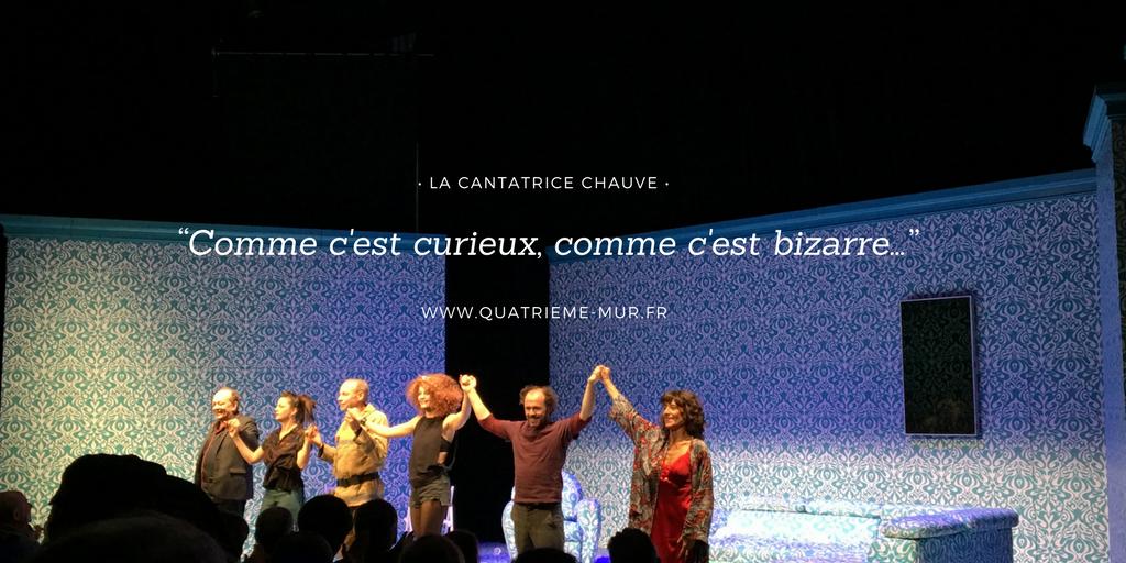 cantatrice chauve 13eme art Pierre Pradinas avis critique théâtre paris blog théâtre