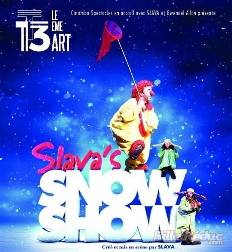 slava snowshow critique avis paris theatre blog quatrième mur