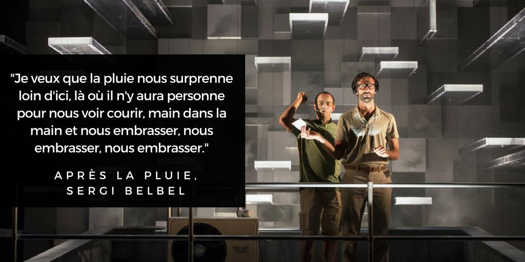 Après la pluie - Belbel - Baur - Theatre du Vieux-Colombier - Comedie-Francaise