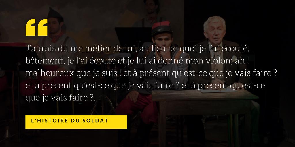 l'histoire du soldat quatrieme mur blog théâtre montparnasse poche critique avis paris(1)