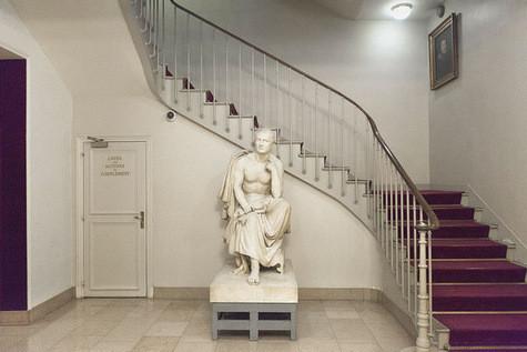statue talma david angers blog comédie française quatrième mur visite historique