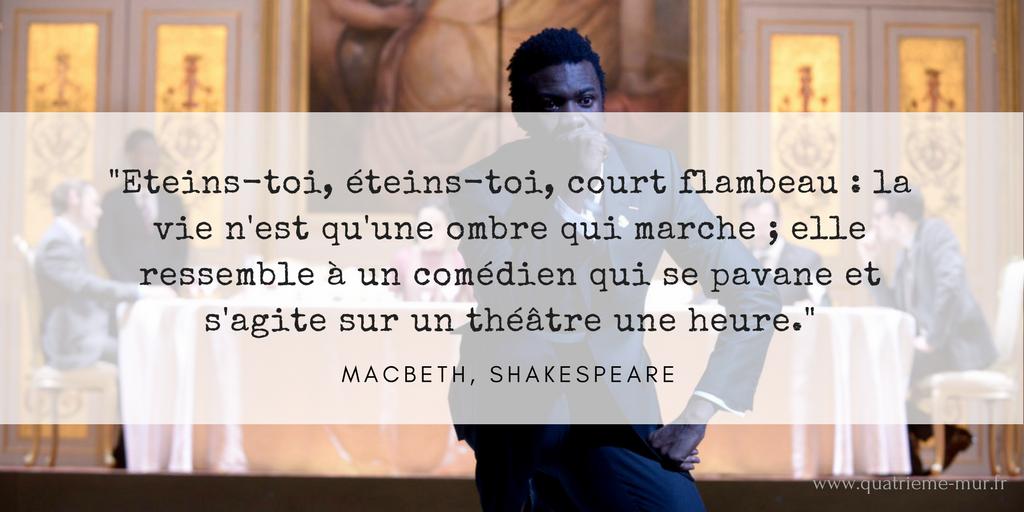 macbeth odéon quatrieme mur blog théâtre critique avis paris