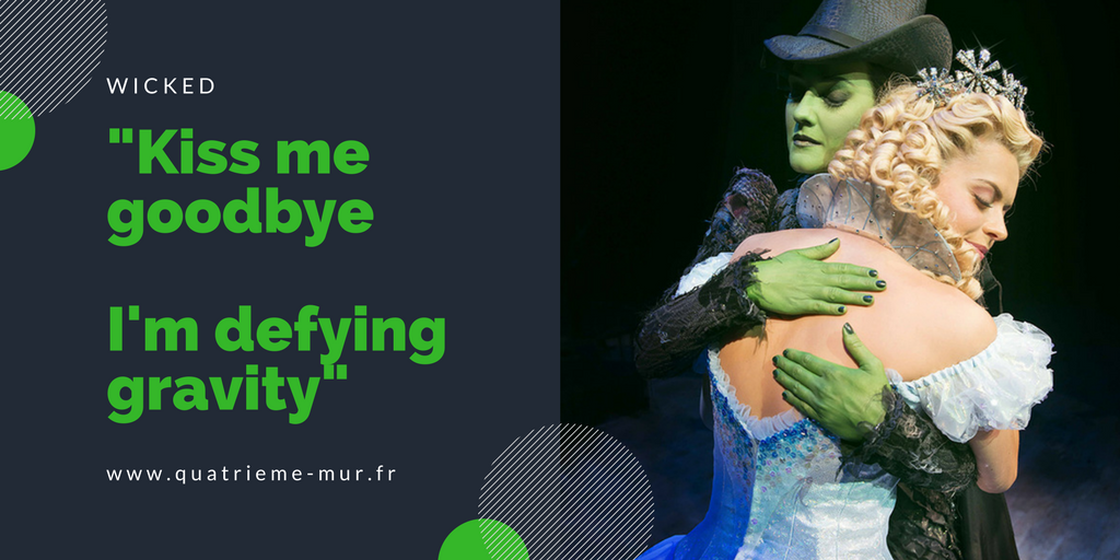 wicked comedie musicale londres musical critique avis london blog théâtre quatrieme mur