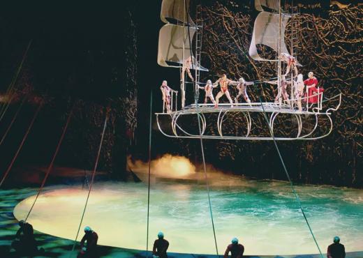 O cirque du soleil critique avis blog theatre quatrieme mur las vegas bellagio