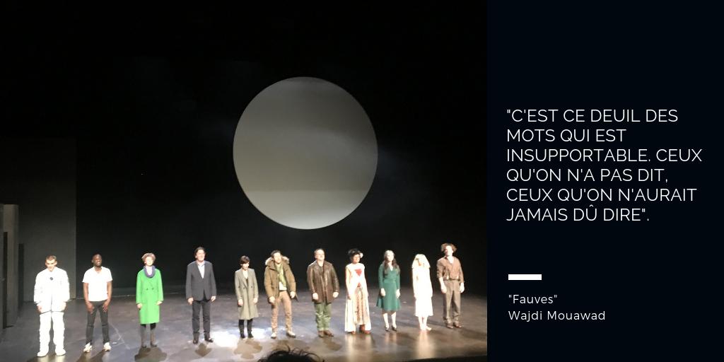 Fauves théâtre wajdi mouawad critiques avis théâtre colline paris blog quatrième mur que voir à paris