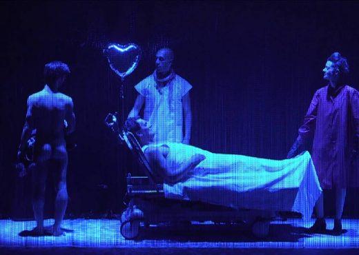 quatrieme mur blog théâtre critique avis angels in america théâtre de l'aquarium cartoucherie paris