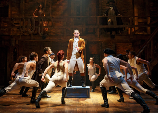 hamilton londres critique avis london quatrieme mur blog théâtre comédie musicale